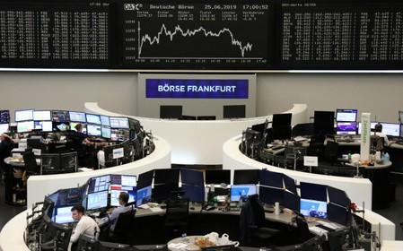European stocks fall for fourth day on Fed, trade anxiety