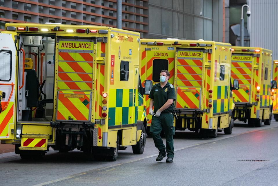 """A&E are """"overwhelmed"""" with parents rushing their children to hospital with mild illnesses, doctors warned (PA Wire)"""