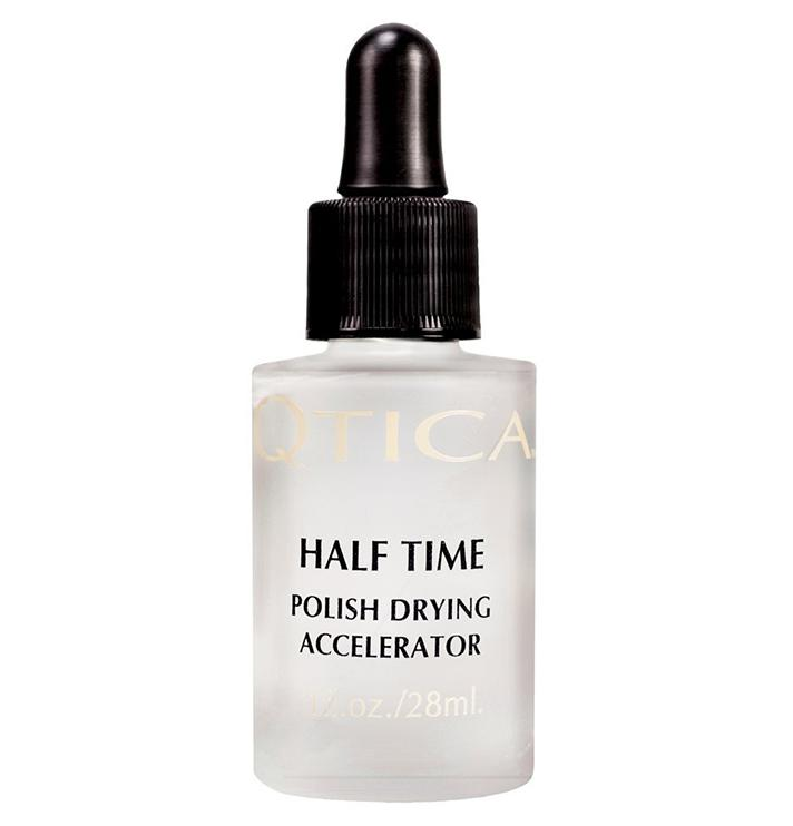 "QTica Quick Dry Drops, $7.50; at <a rel=""nofollow"" href=""http://www.qtica.com/content/item/New_Qtica_Brand/QTICA-HALF-TIME-POLISH-DRYING-ACCELERATOR-025oz.html"" rel="""">Qtica</a>"