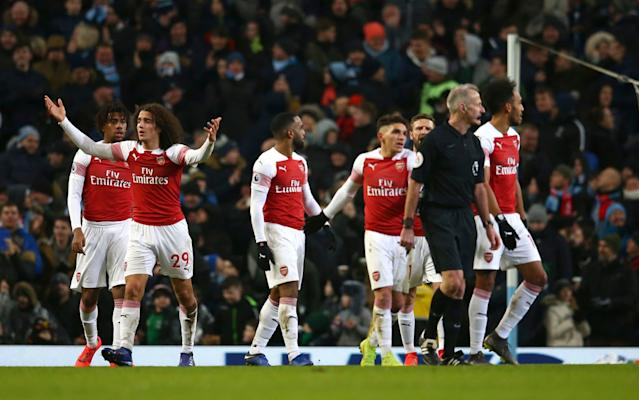 Arsenal have become too accustomed to losing away against the big sides - AP