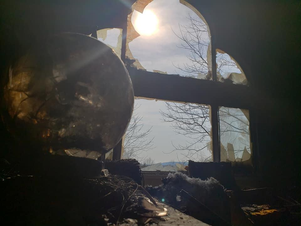 The fire department warned against leaving glass objects and mirrors in direct sunlight. Source: Facebook/Delton Fire Department