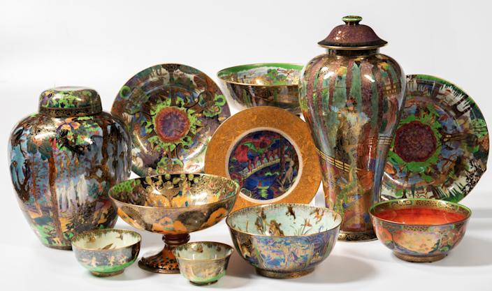 """<div class=""""caption""""> The Skinner Auctioneers will feature numerous examples of ceramic and porcelain works. </div> <cite class=""""credit"""">Photo: Courtesy of Skinner Auctioneers</cite>"""