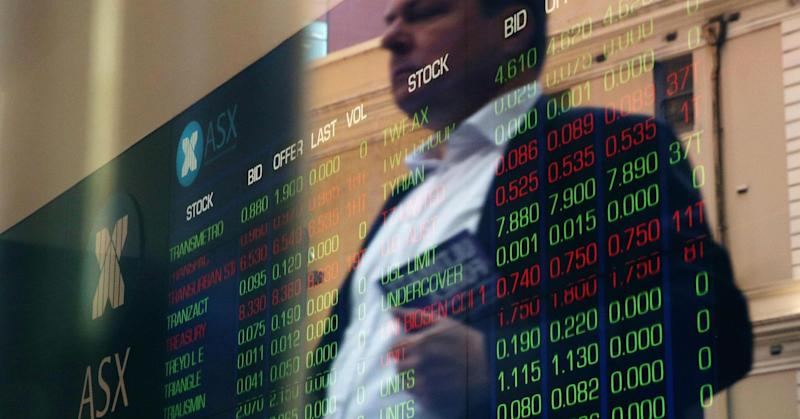 Asian shares track US losses; energy sector underperforms