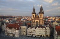 <p>The Czech Republic came in sixth place – here's the stunning medieval architecture of Prague. (Picture:REX) </p>