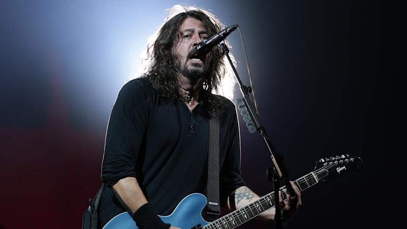 Dave Grohl spotted with bottle of Buckfast after Glasgow gig