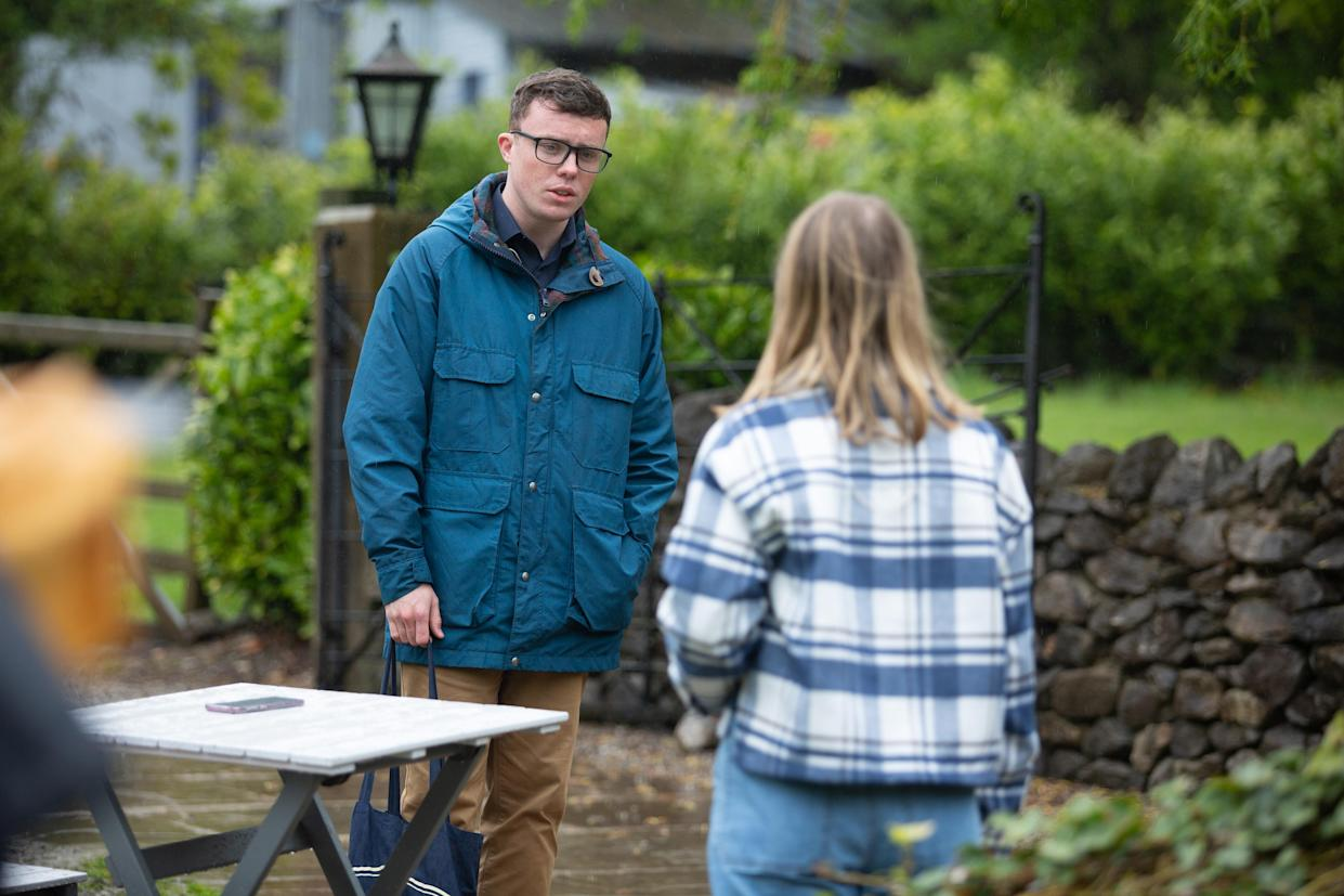 FROM ITV  STRICT EMBARGO  Print media - No Use Before Tuesday 6th July 2021 Online Media - No Use Before Tuesday 6th July 2021  Emmerdale - Ep 9098  Tuesday 13th July 2021  Liv Flaherty [ISOBEL STEELE] struggles with her overwhelming shame, guilt and despair.   Picture contact David.crook@itv.com   This photograph is (C) ITV Plc and can only be reproduced for editorial purposes directly in connection with the programme or event mentioned above, or ITV plc. Once made available by ITV plc Picture Desk, this photograph can be reproduced once only up until the transmission [TX] date and no reproduction fee will be charged. Any subsequent usage may incur a fee. This photograph must not be manipulated [excluding basic cropping] in a manner which alters the visual appearance of the person photographed deemed detrimental or inappropriate by ITV plc Picture Desk. This photograph must not be syndicated to any other company, publication or website, or permanently archived, without the express written permission of ITV Picture Desk. Full Terms and conditions are available on  www.itv.com/presscentre/itvpictures/terms