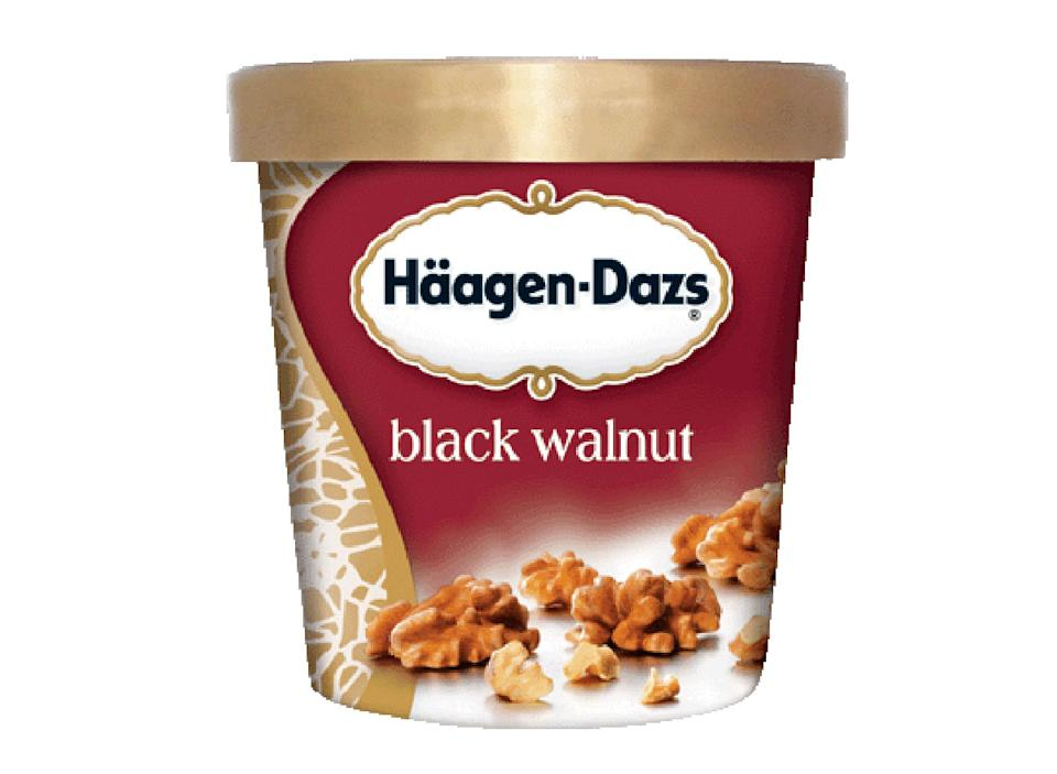 haagen dazs black walnut
