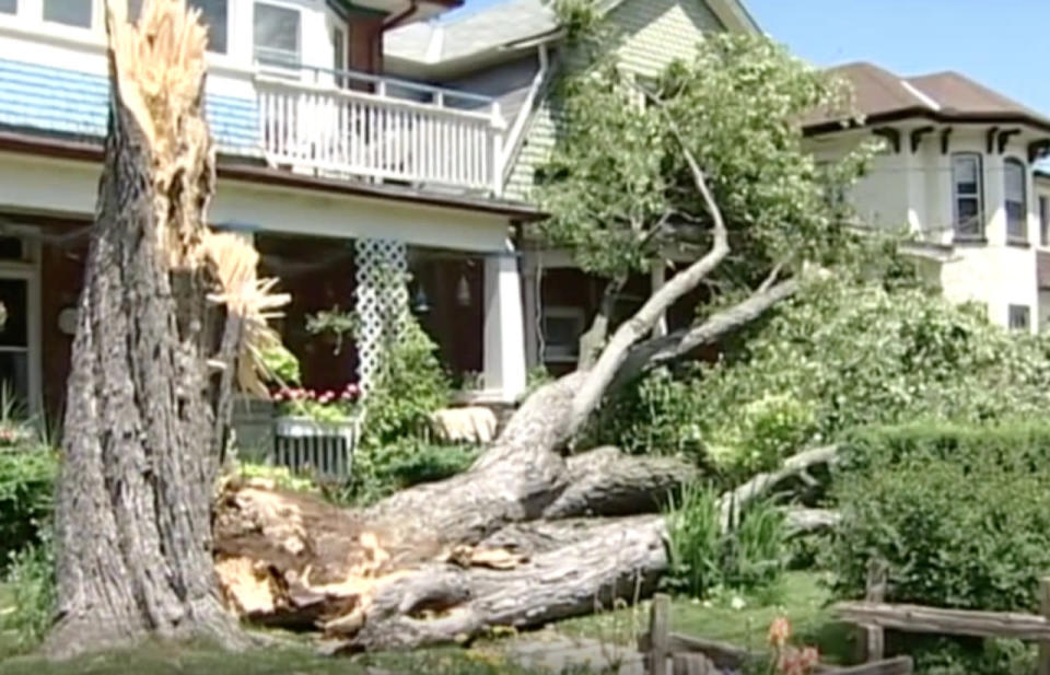 One of Ontario's longest storms spanned 400 km — spawned hail and tornadoes
