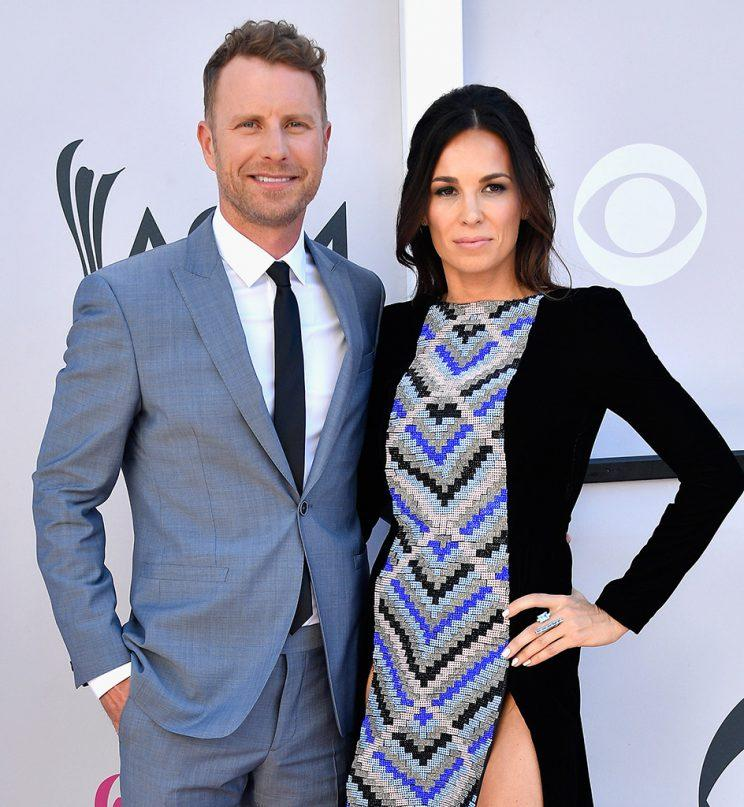 Dierks Bentley and Cassidy Black at the Academy of Country Music Awards in April 2017
