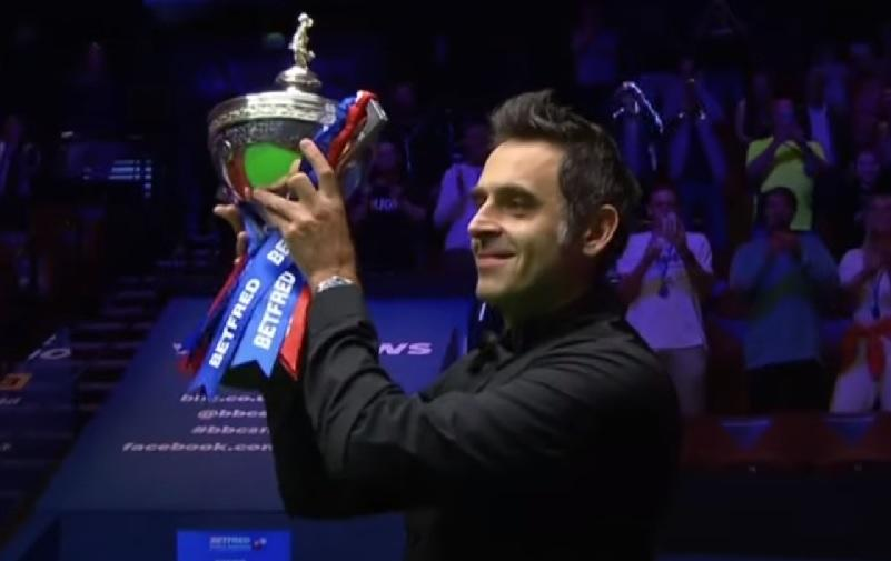 O'Sullivan made the Crucible his Theatre of Dreams for a sixth time in August but keeps a keen eye on affairs away from the baize