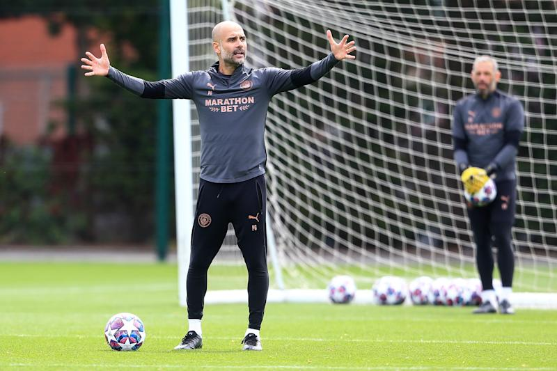 Pep Guardiola hasn't won the Champions League since 2011. Manchester City has never won it. Will both change this month? (Photo by Matt McNulty - Manchester City/Manchester City FC via Getty Images)