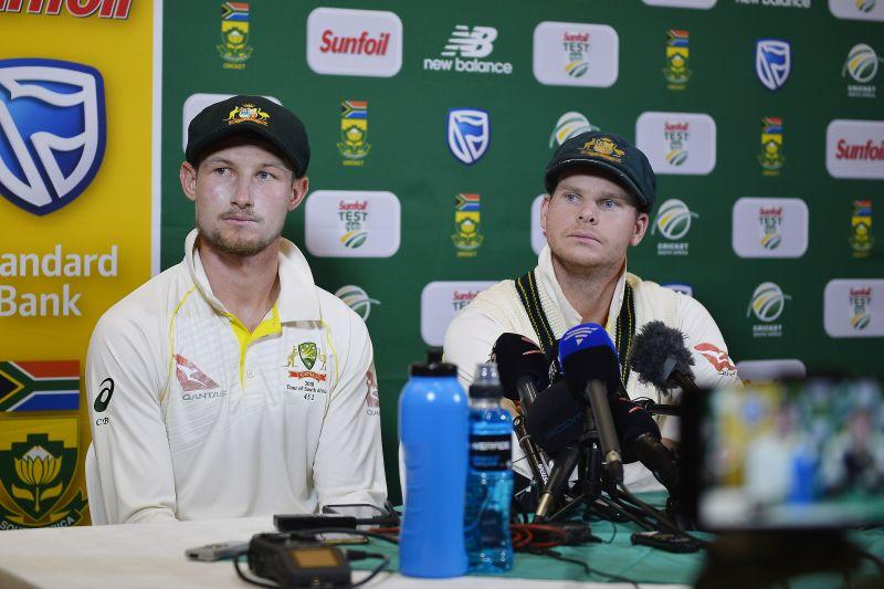 Steve Smith during the press conference admitted to ball tampering