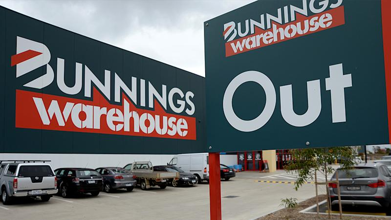 Bunnings has changed their trading hours to assist tradies and health care and emergency workers. Source: AAP
