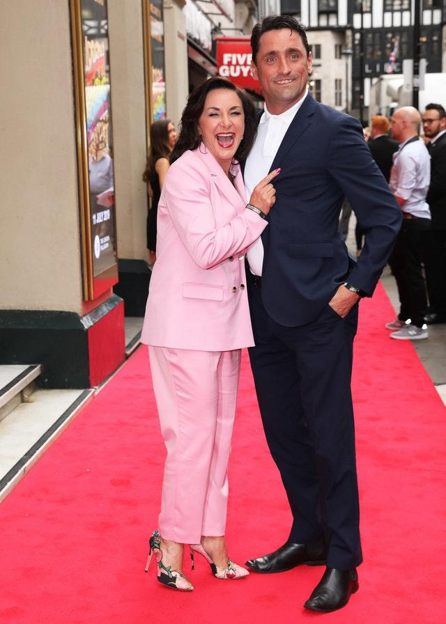 Shirley Ballas and Daniel Taylor