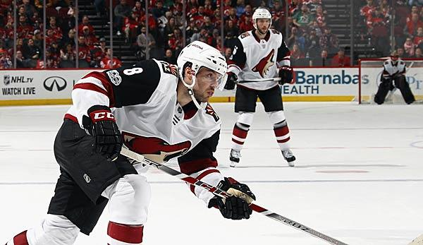 NHL: Rieders Coyotes mit drittem Sieg in Folge