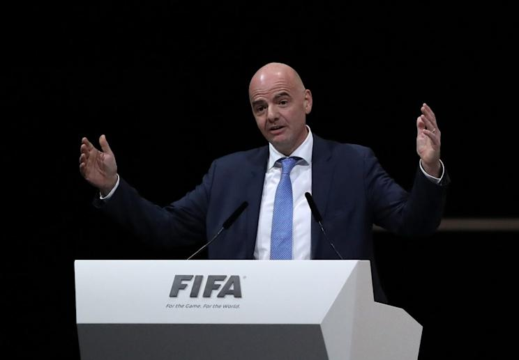 FIFA said it was going to release the report on corruption in the 2018 and 2022 World Cup bidding processes even before it was leaked to a German newspaper. Yeah, sure. (Getty)