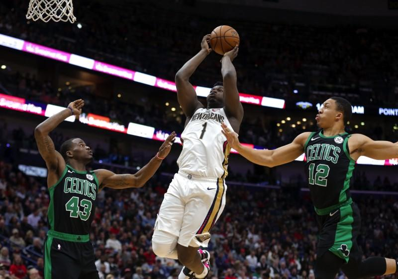 NBA roundup: Pelicans gets first win with Zion