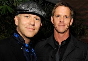 Ryan Murphy and David Miller   Photo Credits: Kevin Winter/Getty Images