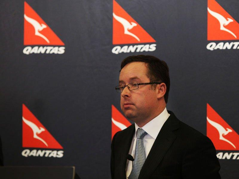 Qantas has first loss since privatisation