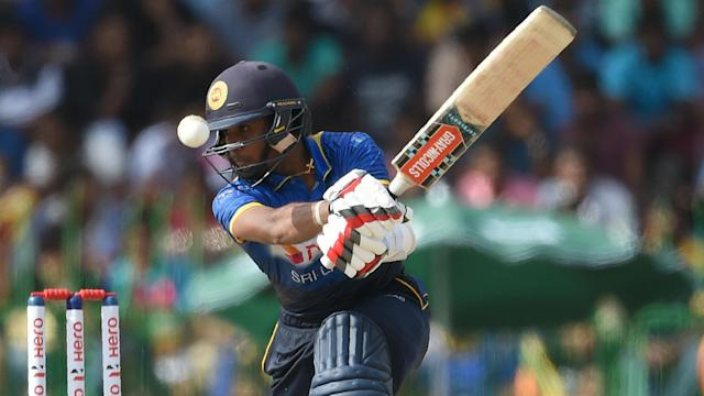 Kusal Mendis hit his first ODI century and Taskin Ahmed claimed a hat-trick but rain washed out Bangladesh v Sri Lanka on Tuesday.