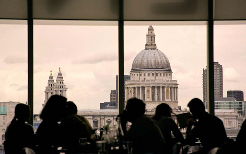Why travel to London for the bars and restaurants when you're up against the clock? - JAMES GRITZ