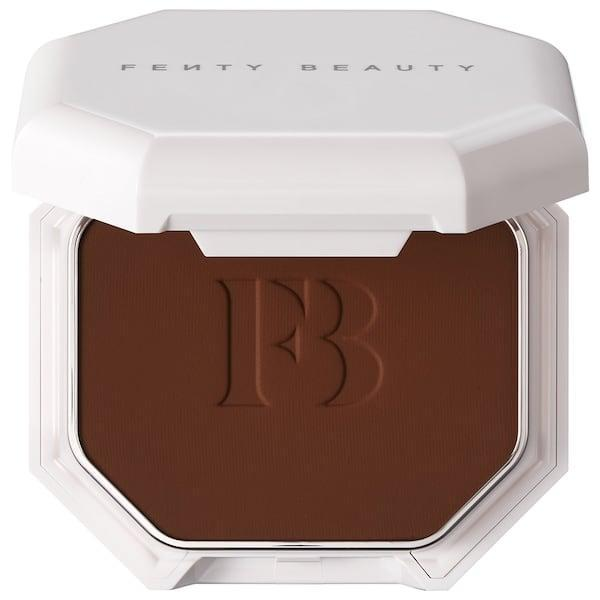 <p>Fans of powder foundation - and Fenty - will definitely be happy to spot this <span>Fenty Beauty by Rihanna Pro Filt'r Soft Matte Powder Foundation</span> ($36) in 50 shades.</p>