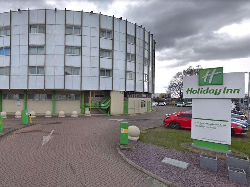 The Holiday Inn Heathrow Ariel hotel has been closed to the public and block booked as a potential quarantine centre for coronavirus cases: Google