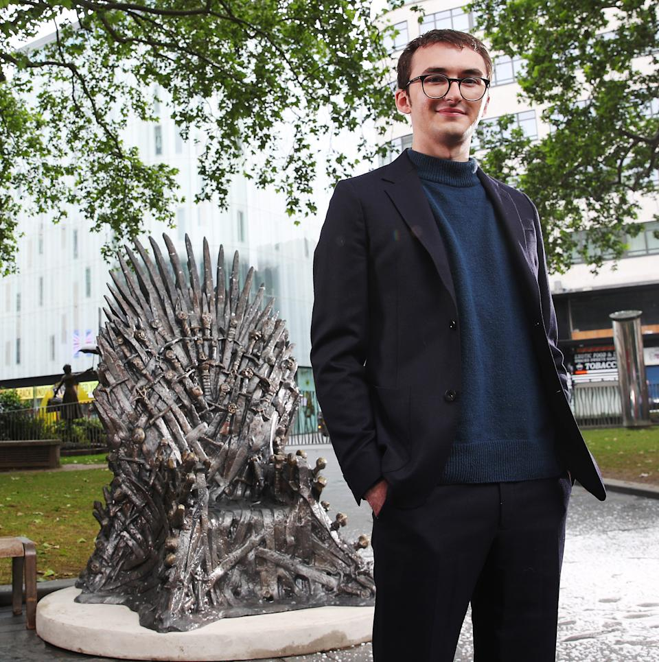 The Iron Throne has been added to the Scenes in the Square statue trail. (Joe Pepler/PinPep)