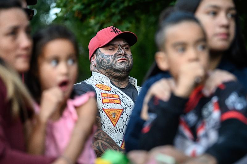 The community in Christchurch has come together in displays of solidarity following the mosque attacks (AFP Photo/Anthony WALLACE)