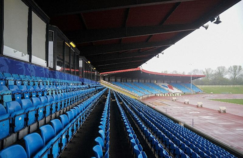 Alexander Athletics Stadium will be transformed for the 2022 Commonwealth Games (AFP Photo/Christopher Furlong)