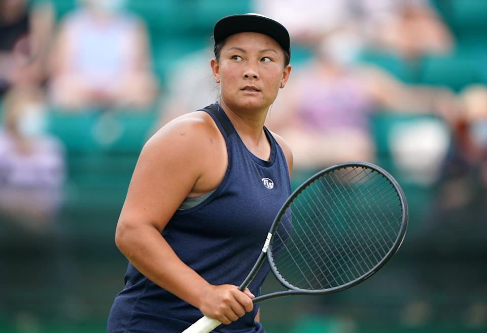 """Doubles star Tara Moore has said women tennis players still have a """"fight"""" on their hands for equal pay (PA)"""