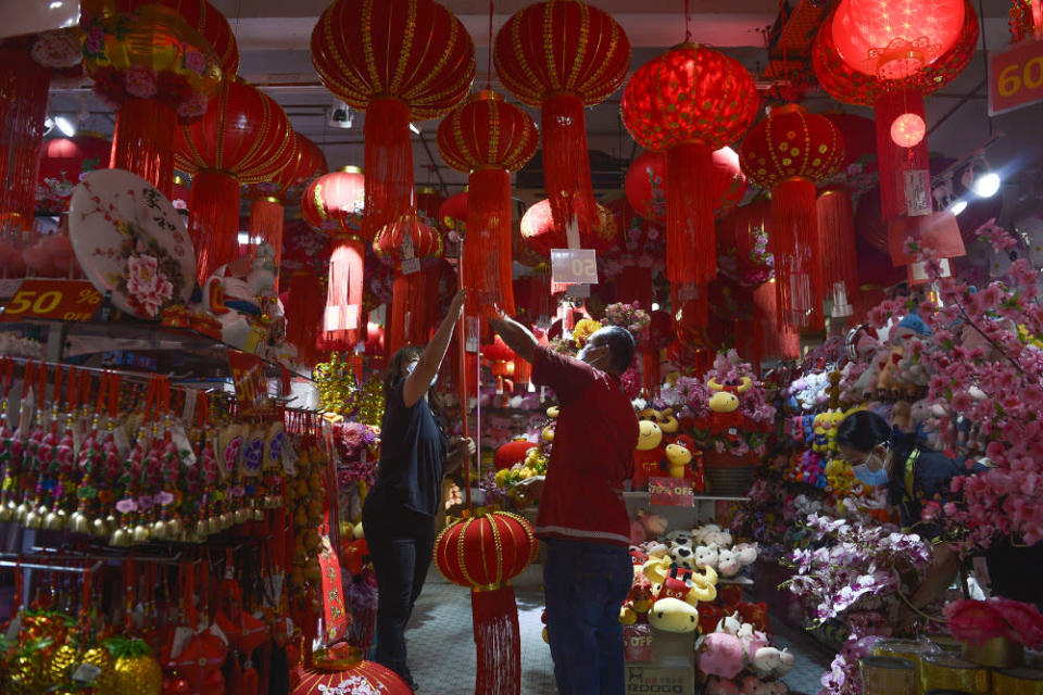 Confusion has set in about the Chinese New Year SOPs and the bewildering terms. — Picture by Miera Zulyana