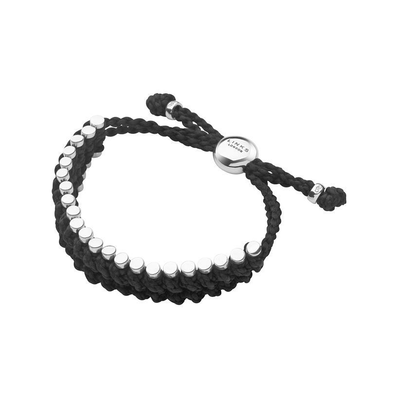 "<p>A masculine take on the classic friendship bracelet, this features black rope and solid sterling silver. A classic piece that can be worn every day. <i>($415 <a href=""http://www.linksoflondon.com/ca-en/mens-friendship-bracelet-black-rope/prod=2110-0036"" rel=""nofollow noopener"" target=""_blank"" data-ylk=""slk:via Links of London"" class=""link rapid-noclick-resp"">via Links of London</a>)</i></p>"