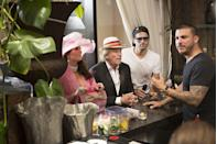 """<p>When the cast is filming, the <a href=""""https://www.reddit.com/r/IAmA/comments/2nz28q/i_am_jax_taylor_of_vanderpump_rules_ama/"""" rel=""""nofollow noopener"""" target=""""_blank"""" data-ylk=""""slk:show takes up most of their time"""" class=""""link rapid-noclick-resp"""">show takes up most of their time</a> and working shifts at SUR isn't a top priority. """"Production can't force us to work if we don't want to,"""" Scheana Shay told <em><a href=""""https://podtail.com/en/podcast/juicy-scoop-with-heather-mcdonald/juicy-scoop-ep-23-scheana-shay-of-vanderpump/"""" rel=""""nofollow noopener"""" target=""""_blank"""" data-ylk=""""slk:Juicy Scoop With Heather McDonald"""" class=""""link rapid-noclick-resp"""">Juicy Scoop With Heather McDonald</a> </em>in 2015. <em>""""</em>But if there is a couple weeks that go by and people aren't working, we get a phone call from Ken and Lisa.""""</p>"""