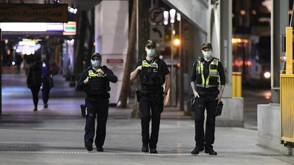 More than 1,500 police are patrolling the streets of Melbourne to enforce the lockdown