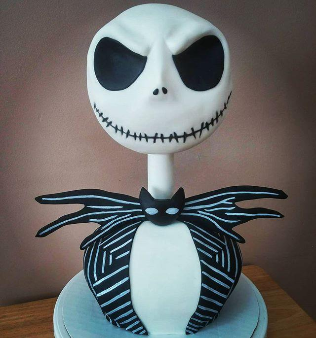 "<p>You have to be ~pretty~ skilled at baking to recreate this The Nightmare Before Christmas cake (side note: is it a Christmas or Halloween film?)</p><p><a class=""body-btn-link"" href=""https://www.youtube.com/watch?v=rBltO6L3jPQ"" target=""_blank"">GET THE RECIPE</a><br></p><p><a href=""https://www.instagram.com/p/BZMKRc8hzMx/"">See the original post on Instagram</a></p>"