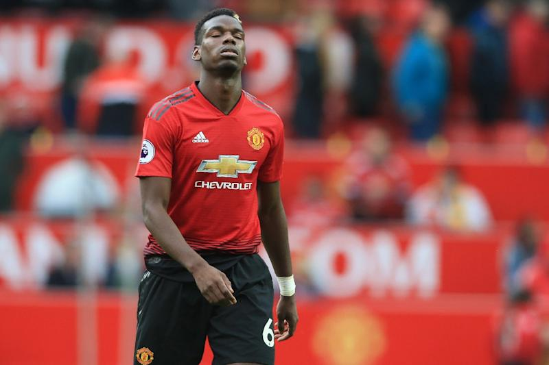 Manchester United's Jose Mourinho has tense training encounter with Paul Pogba