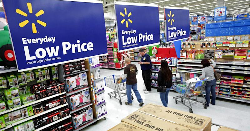 Wal-Mart shares just did something they haven't done since 1995