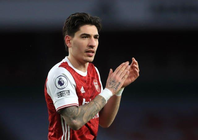 Arsenal's Hector Bellerin is a target for Atletico Madrid