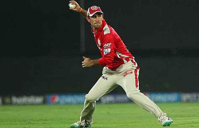 Glenn Maxwell handed the reigns of Kings XI for IPL 10