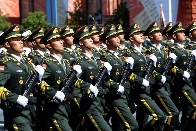 FILE PHOTO: Victory Day Parade in Moscow