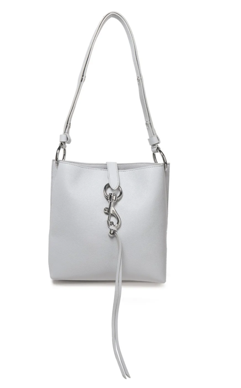 Rebecca Minkoff Textured-leather shoulder bag. (PHOTO: The Outnet)