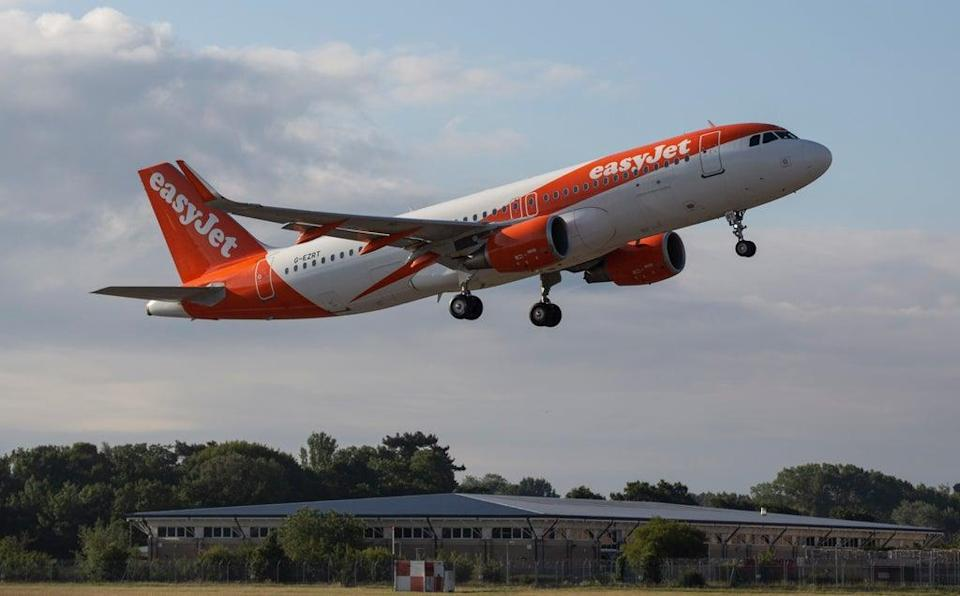 Ministers 'missed the boat' by waiting until after the summer holidays for the latest easing of travel rules, easyJet has claimed (Matt Alexander/PA) (PA Archive)