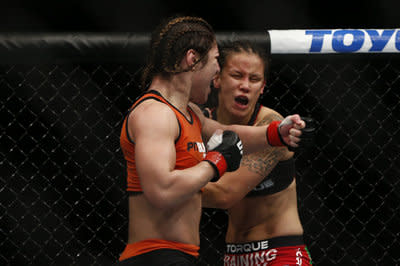 Bethe Correia vs. Shayna Baszler full fight video highlights