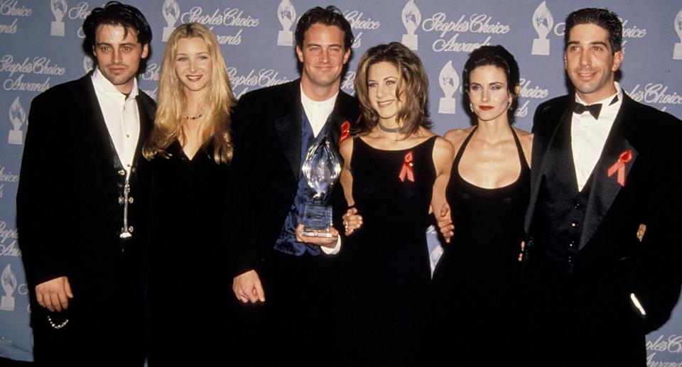 Cast of Friends. Source: Getty Images