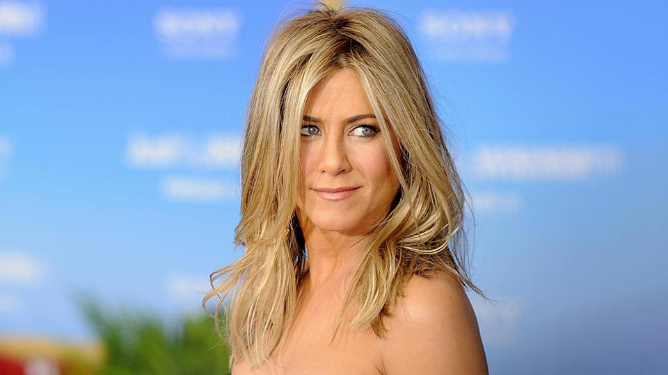 Actress Jennifer Aniston is selling her nude for charity. Photo: Getty Images