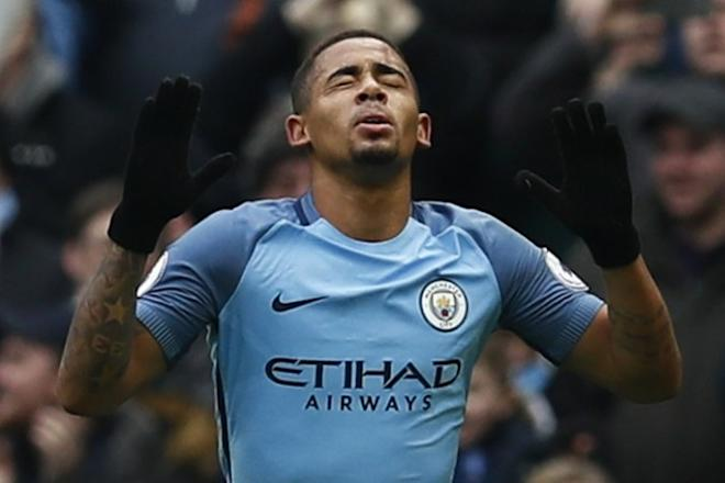 Gabriel Jesus, Manchester City, FA Cup, semifinal, Arsenal