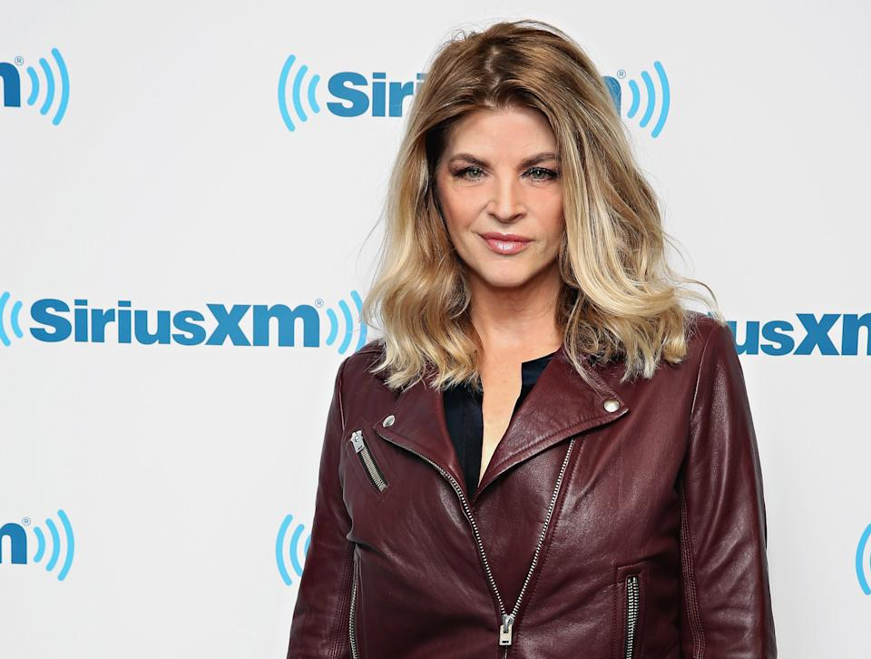 Kirstie Alley engaged in a Twitter feud with CNN, whom she accused of fear mongering amid the coronavirus pandemic. (Photo: Cindy Ord/Getty Images)