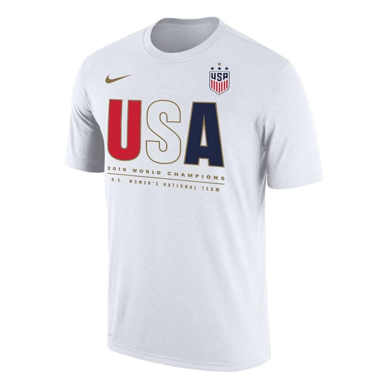 cheaper c889a ae540 Shop USWNT World Cup championship apparel