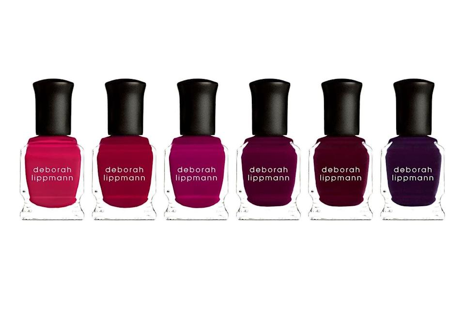 <p>This <span>Deborah Lippmann Very Berry Nail Polish Set</span> ($36) is an epic gift. The polishes are gorgeous, and it's such a deal!</p>